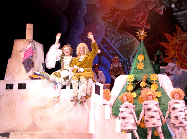 Новогодняя сказка Ростовского музыкального театра