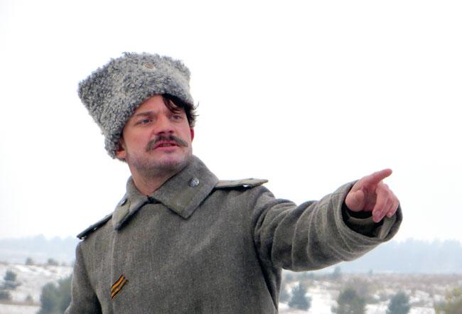 На съемках Тихого Дона Сергея Урсулука