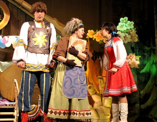 Новогодняя сказка Как Кощей Бессмертный на Василисе женился в Шахтинском театре