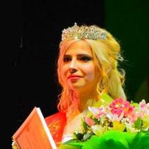 Победительница конкурса - Вилена Вележинская