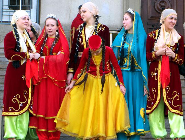 азербайджанки, Новруз-Байрам в Ростове-на-Дону