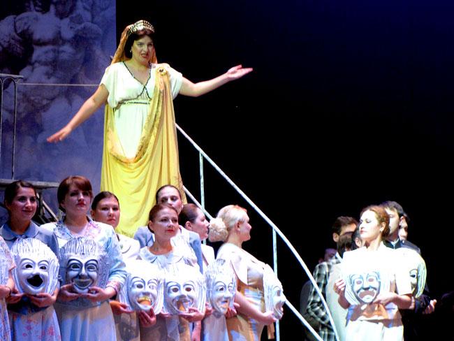 Опера Орестея в Ростовском Музыкальном театре