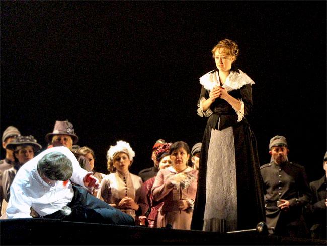 Опера Фауст в постановке Ростовского музыкального театра