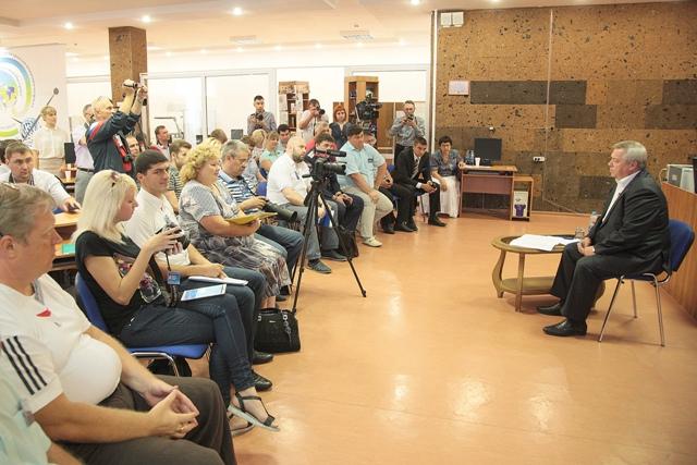 Ростов-на-Дону встреча врио губернатора с блогерами