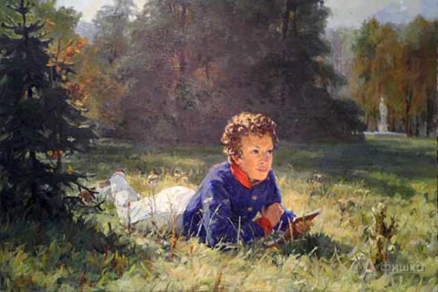 юный пушкин в лицейском мундире