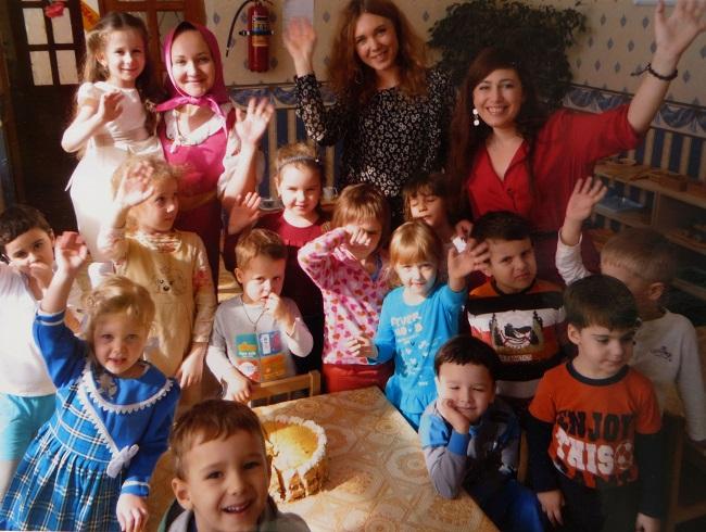 """дети и воспитатели детсада """"Умнички"""" Ростов-на-Дону"""