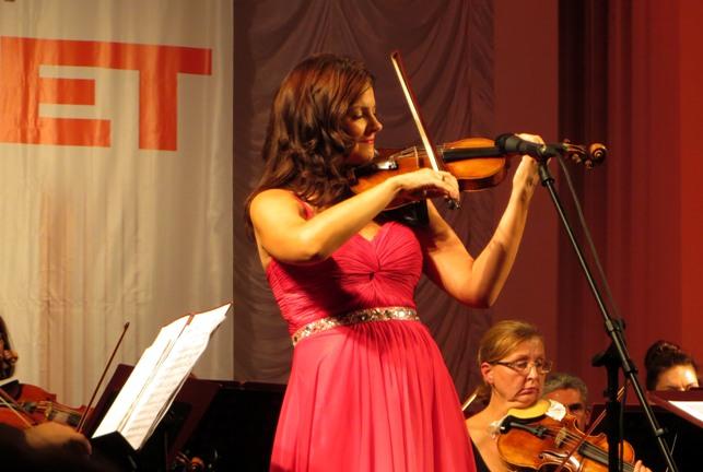 скрипачка Татьяна Самуил