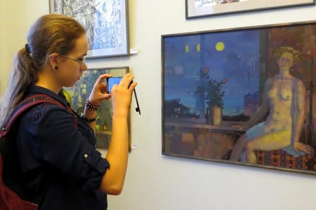 """на выставке """"Зеленого острова"""" в РОМИИ-4"""