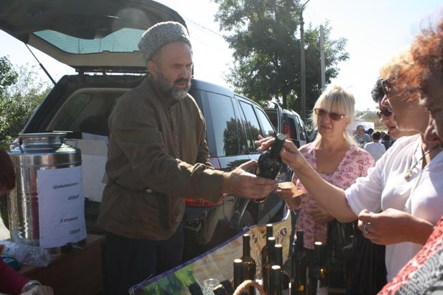 на прадзнике Донская лоза-2015-продажа вина