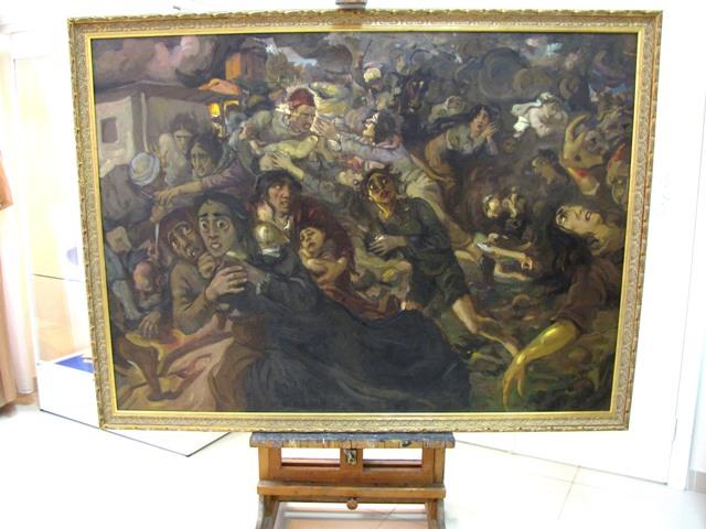 """картина Акима Ованесова """"Из века в век2"""