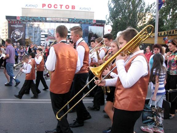 юные музыканты из школы Кима Назаретова