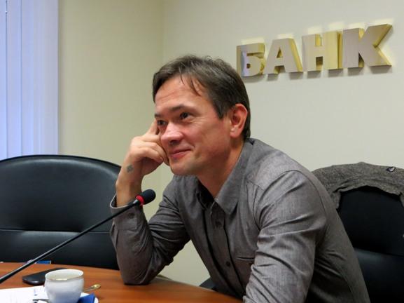 писатель Денис Гуцко