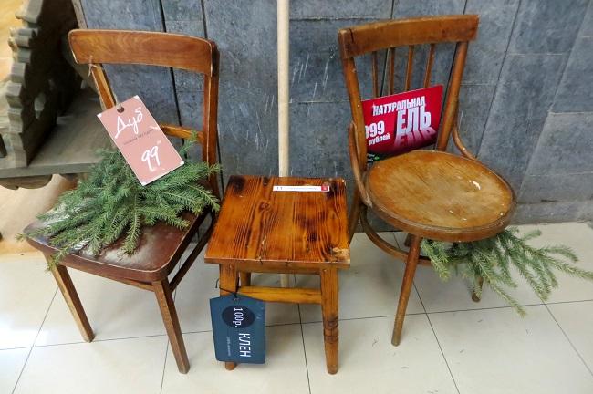 стулья-елки