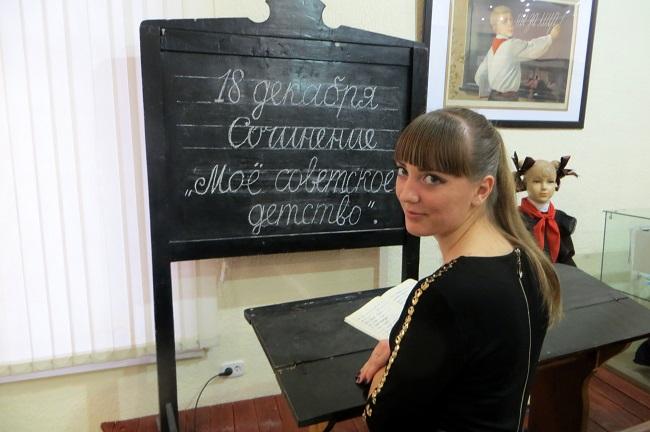"""на выставке """"Мое советское детство"""""""