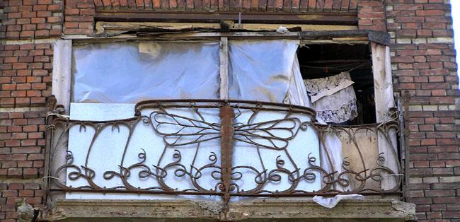 балкон-стрекоза