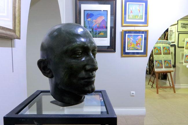 Шемякин--автопортрет