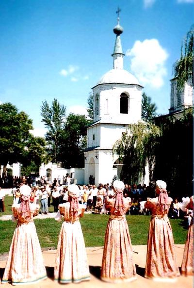 праздник на Атаманском подворье