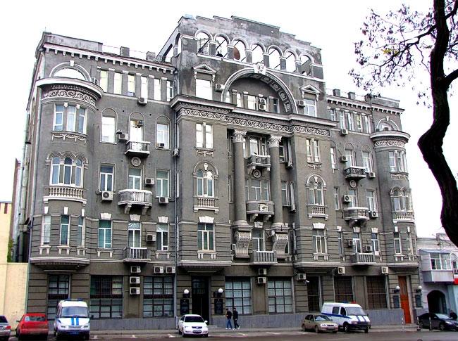 дом Чирикова в Ростове-на-Дону
