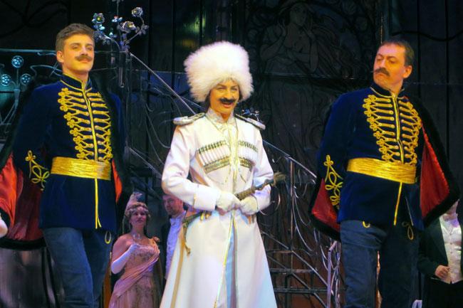 князь Орловский и гусары