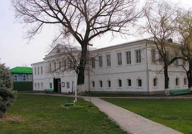 атаманский дворец в Старочеркасской
