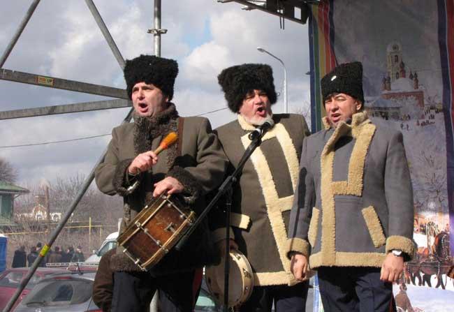 казаки-поют