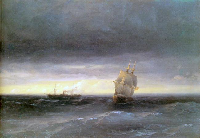 Айвазовский И.К. Море 1882г. холст, масло-1