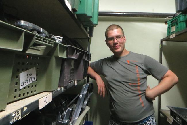 Сергей Летвяков-кладовщик отменный