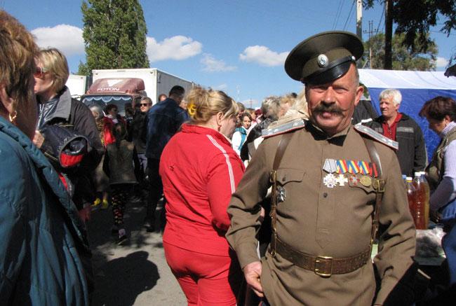 казак-посетитель-ярмарки