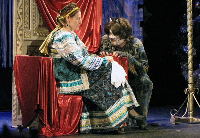 Царица-Ольга-Клименко-и-Кот