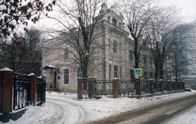 Здание первого ростовского вокзала