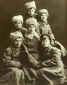 женщины-прапорщики