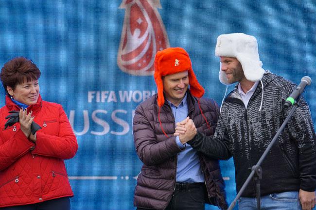Кириченко и исландец и Кожухова