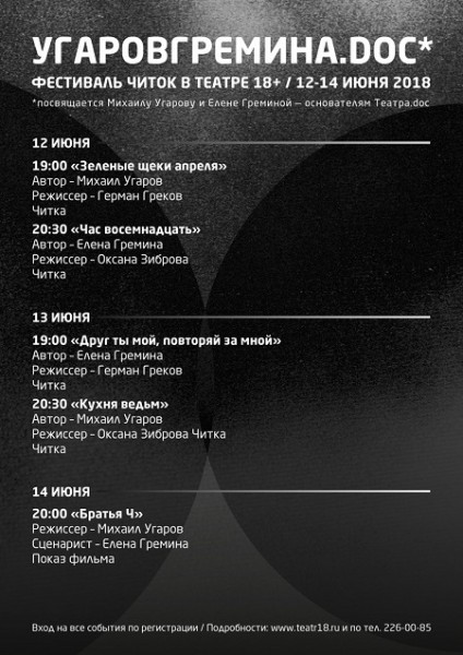 фестиваль памяти Угарова Греминой