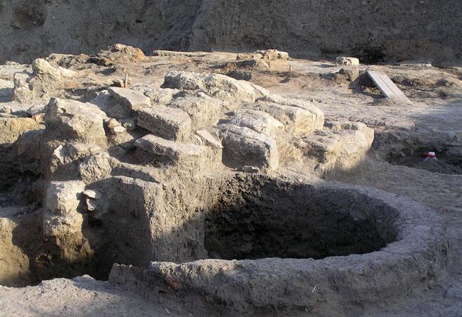 Фанагория-остатки-дворца