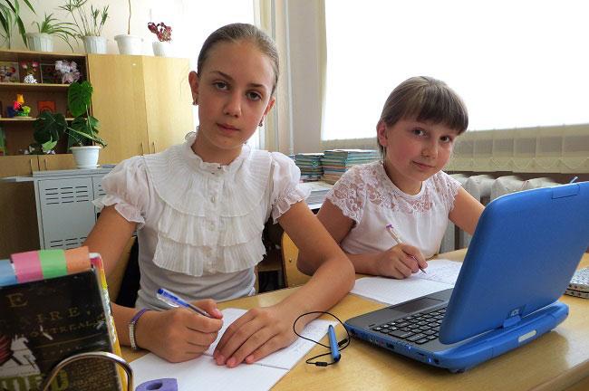 девочки-и-ноутбук