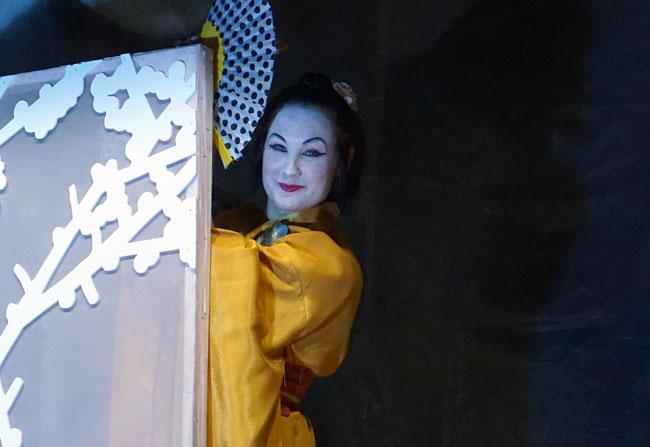 Барсук-девушка-в-желтом-ким