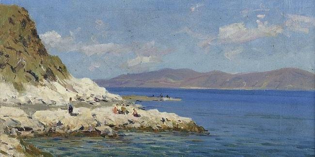 Иван Язев Морской пейзаж-min