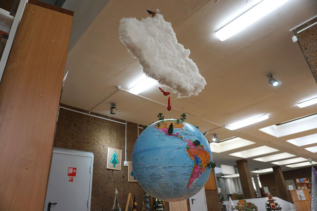 елка-шар-Земной