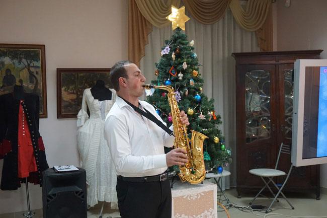 Саксофонист-Рубен-Маркасян