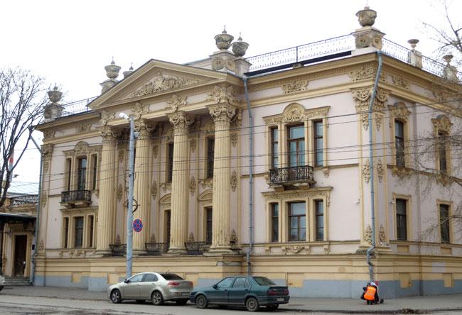 Дворец-Алфераки-Таганрог