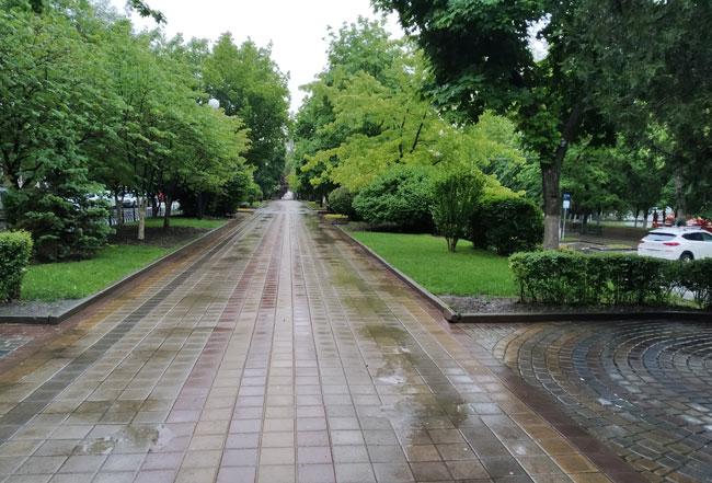 Пушкинская-после-дождя