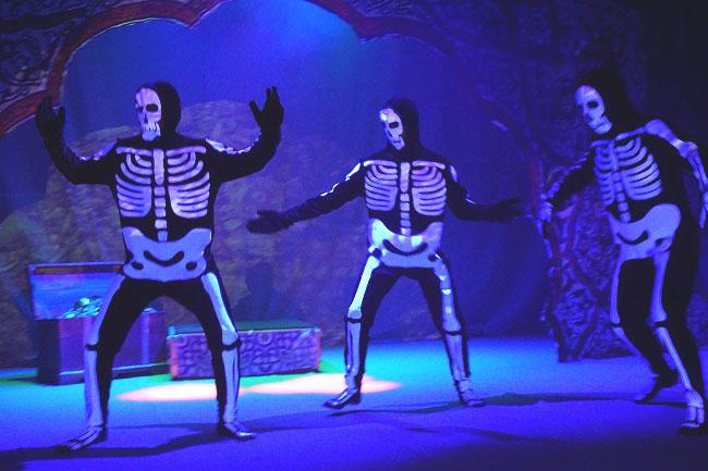 Танец-скелетов