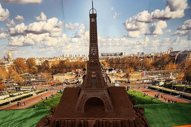 шоколадная-Эйфелева-башня