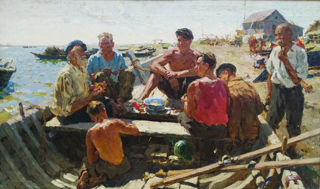 Борис-Спорыхин.Рыбаки