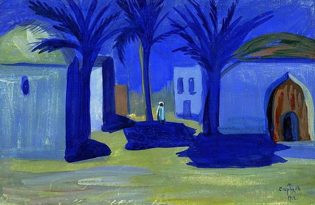 Мартирос Сарьян. Египетская ночь. 1912