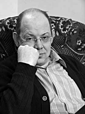 Чумаченко Михаил Николаевич, декан режиссерского факультета Российской академии театрального искусства (бывший ГИТИС) фото Веры Волошиновой