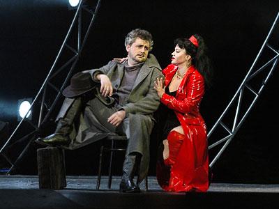 Будулай - Петр Макаров в опере Ростовского музыкального театра 'Цыган', фото Веры Волошиновой