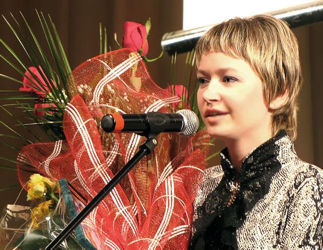Ольга Боброва, Учитель года Дона-2010, фото Веры Волошиновой/></p> <p style=