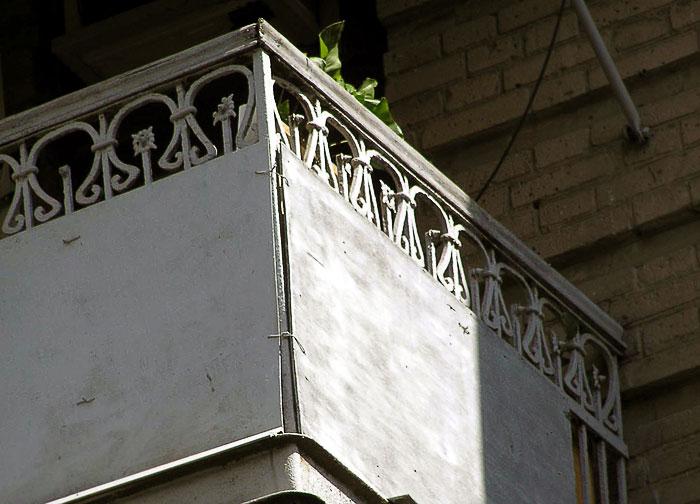 Братский 76, балконное ограждение, Ростов-на-Дону, фото Веры Волошиновой