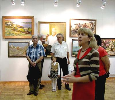 В зале Донских художников